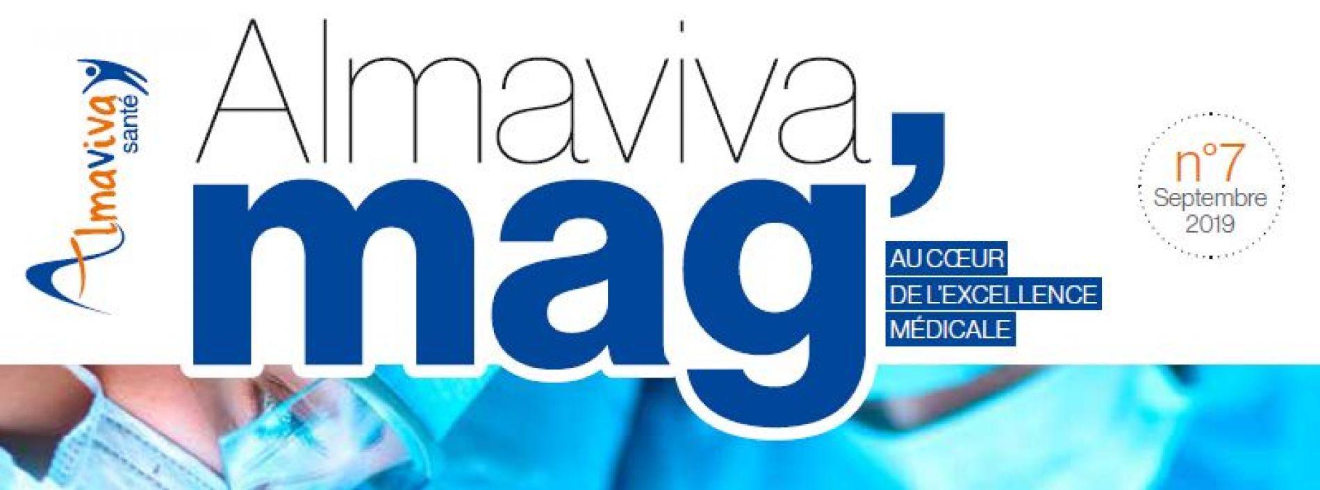 Magazine Almaviva Santé N°7 - Septembre 2019