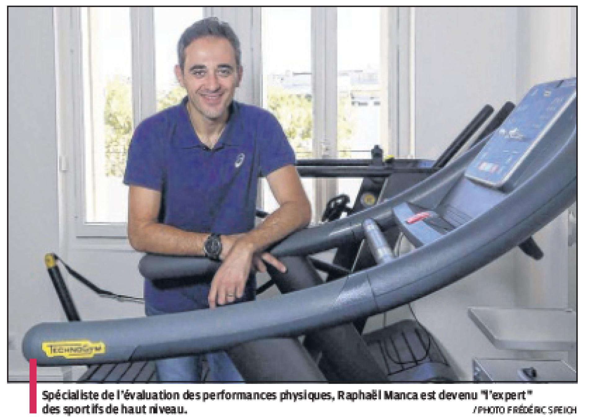 Sportifs et patients un centre pour améliorer les performances