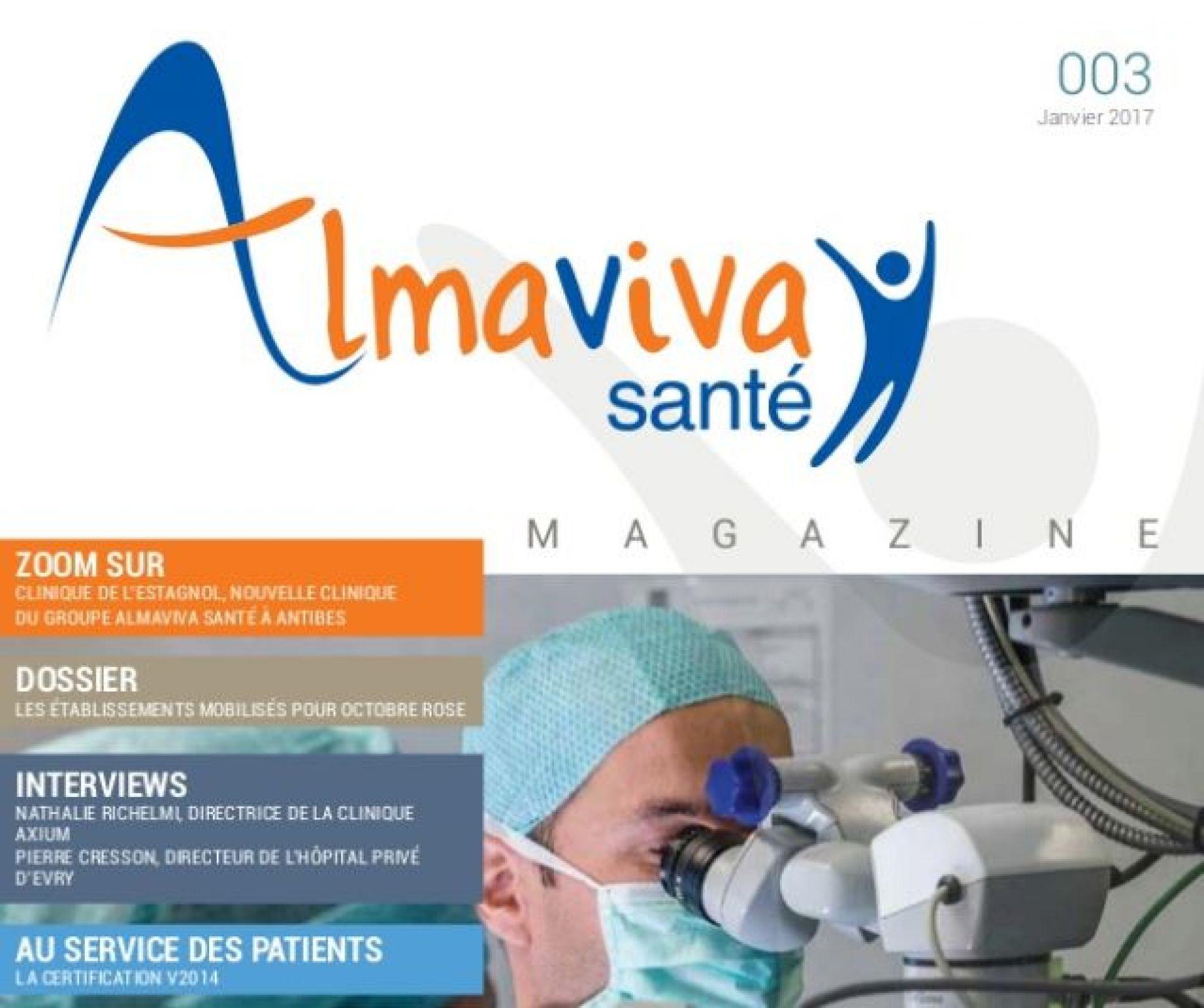 3ème édition du magazine Almaviva Santé