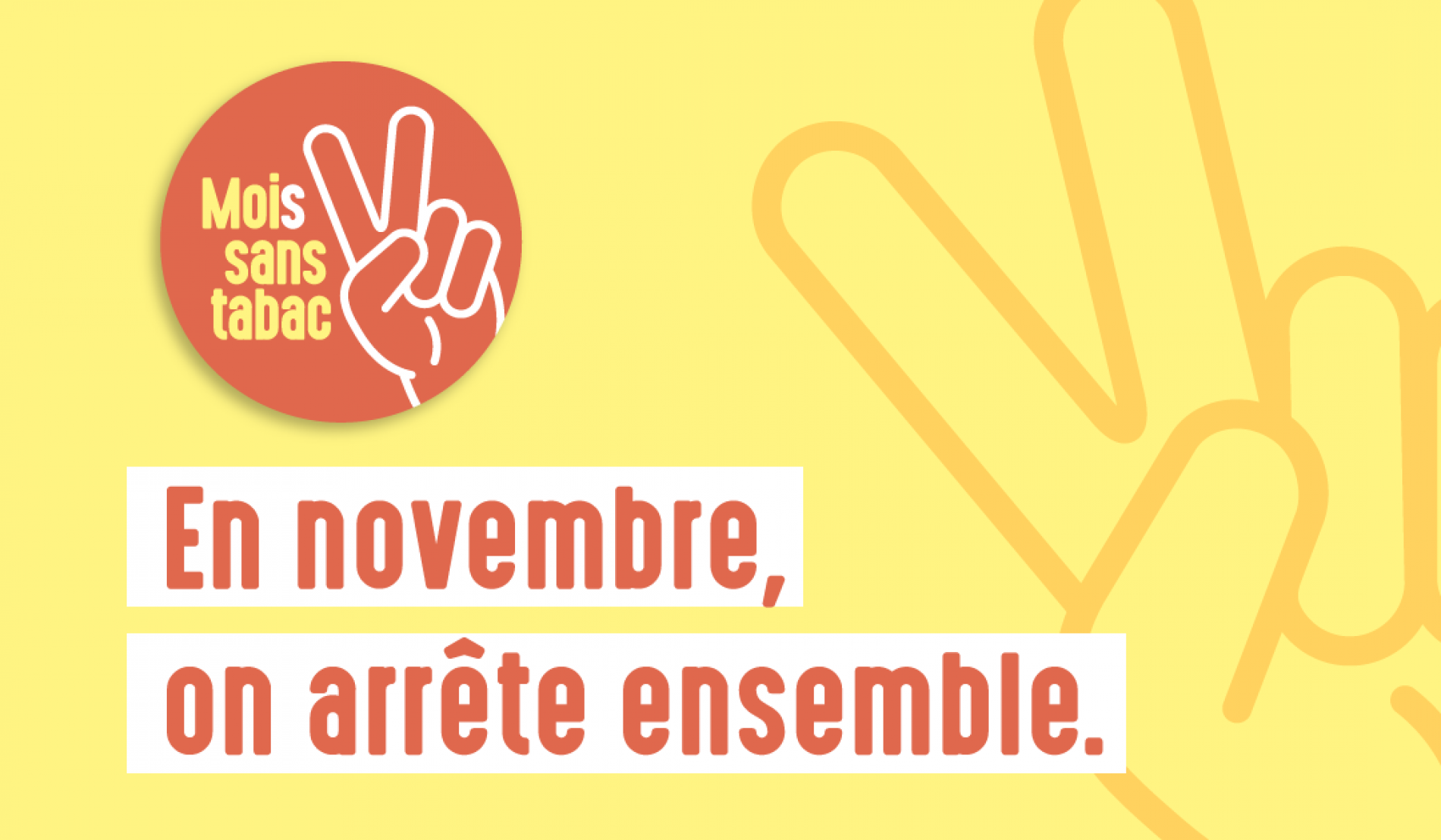 Novembre : Mois sans tabac