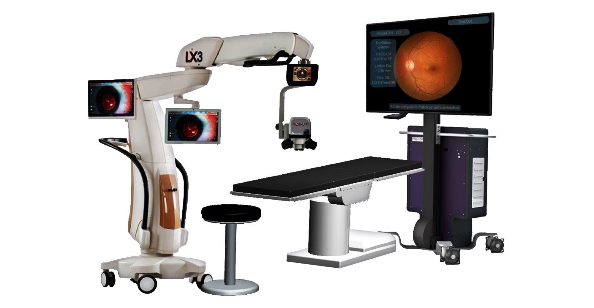 Le service d'ophtalmologie de la Clinique Juge s'équipe d'un INGENUITY 3D, une 1ère en France
